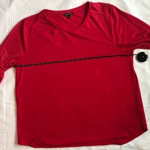 Jcrew mercantile NWOT red tunic